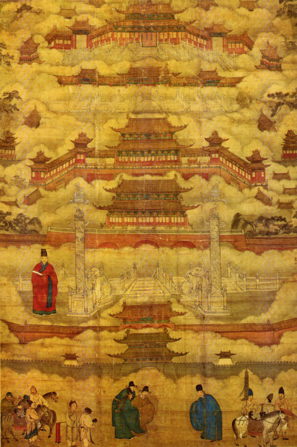 China the heritage trust for Dynasty mural works