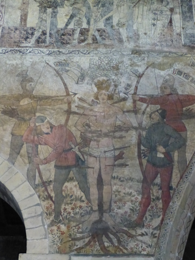 Medieval wall paintings in the Church of St Peter and St Paul, Pickering, North Yorkshire (3/5)