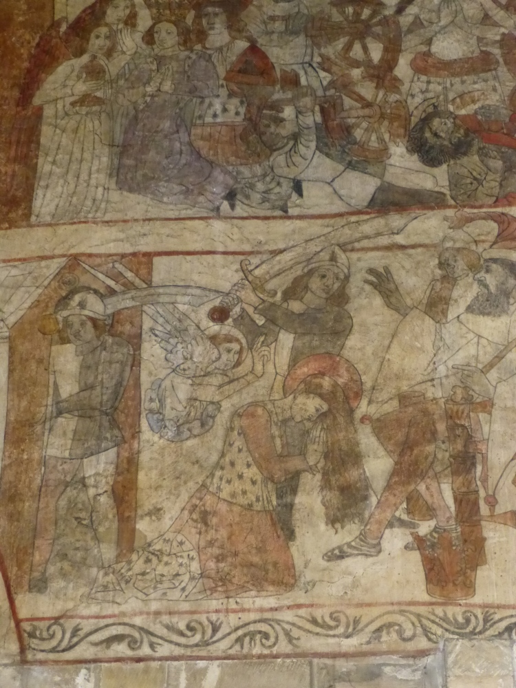 Medieval wall paintings in the Church of St Peter and St Paul, Pickering, North Yorkshire (5/5)