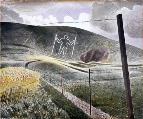 Eric Ravilious, The Wilmington Giant, 1939 (V&ADACS)
