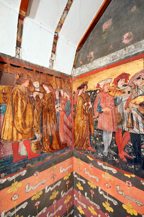 Pre Raphaelite Murals Discovered Under Layers Of Paint And