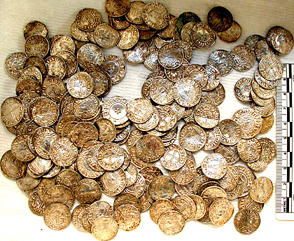 Hoard of more than 5,000 Anglo-Saxon silver coins found: The Finds Liaison Officer's account