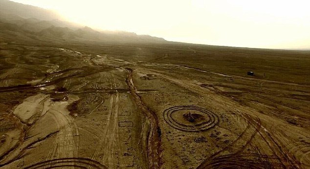Stone circles dating from the Bronze Age discovered in China's Gobi Desert